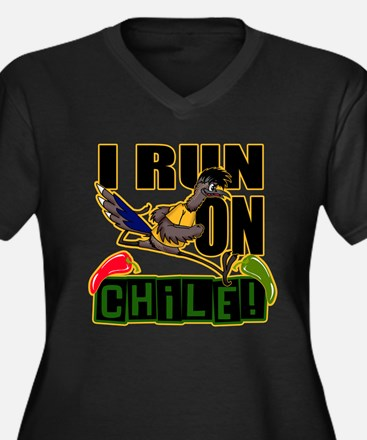 I RUN ON CHILE Plus Size T-Shirt
