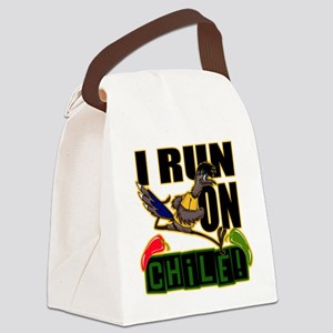 I RUN ON CHILE Canvas Lunch Bag