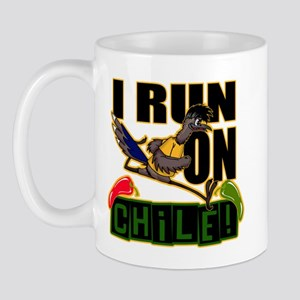 I Run On Chile Mugs