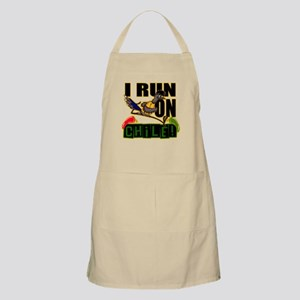 I RUN ON CHILE Apron