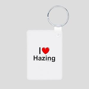 Hazing Aluminum Photo Keychain