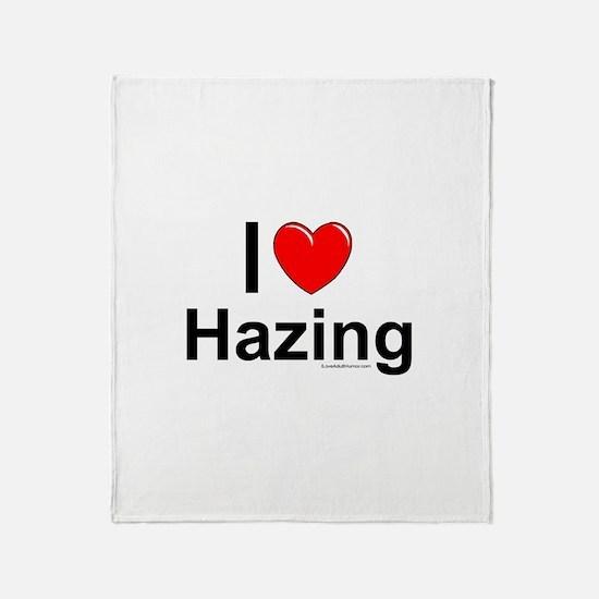 Hazing Throw Blanket