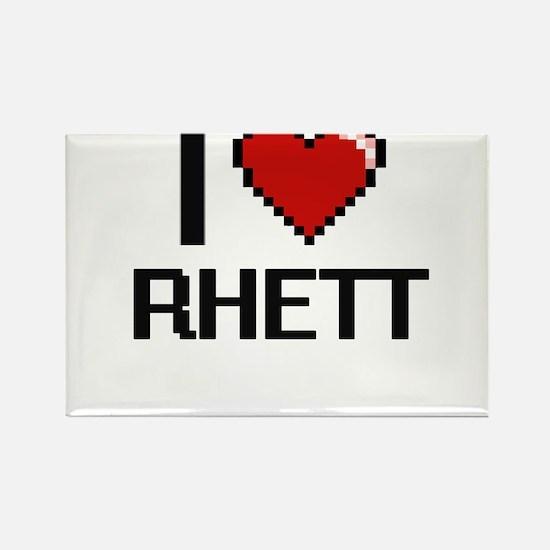 I Love Rhett Magnets