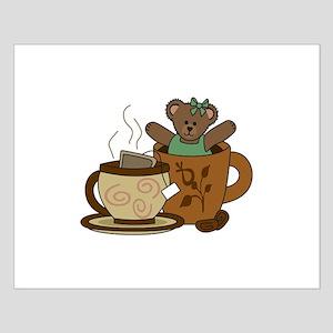 TEDDY BEAR COFFEE AND TEA Posters