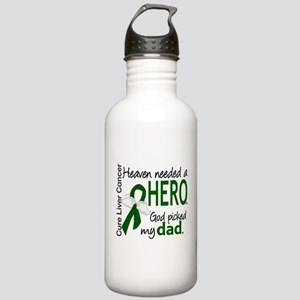 Liver Cancer HeavenNee Stainless Water Bottle 1.0L