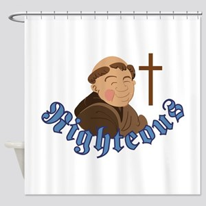 Righteous Shower Curtain