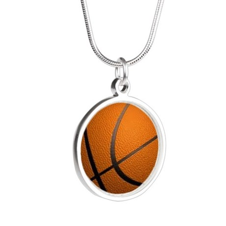 Basketball Big Wide Necklaces