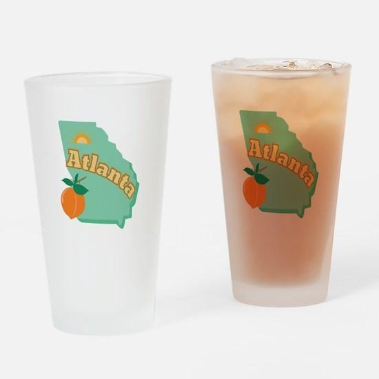 Atlanta Drinking Glass