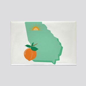 State Of Georgia Magnets