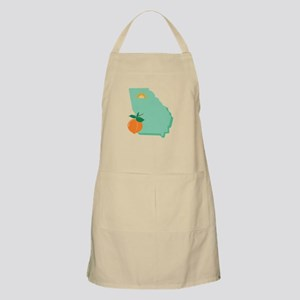State Of Georgia Apron