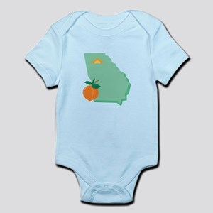 State Of Georgia Body Suit