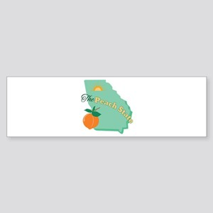 Peach State Bumper Sticker