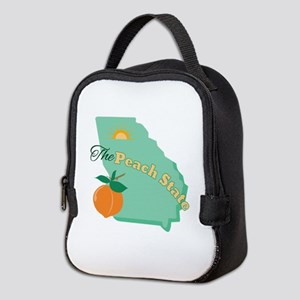 Peach State Neoprene Lunch Bag