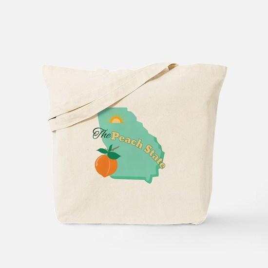Peach State Tote Bag