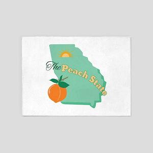 Peach State 5'x7'Area Rug