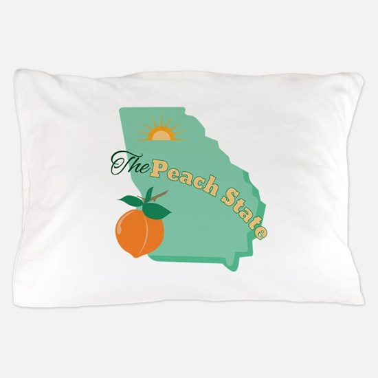 Peach State Pillow Case