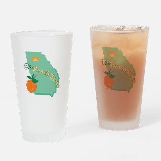 Peach State Drinking Glass