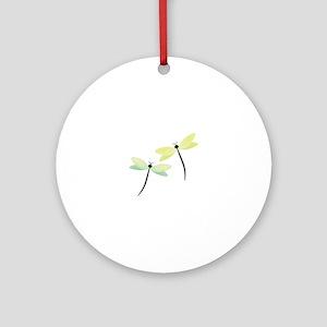 Dragonflies Ornament (Round)