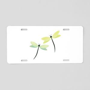 Dragonflies Aluminum License Plate