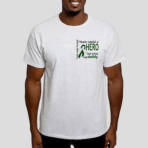 Liver Cancer HeavenNeededHero1 Light T-Shirt