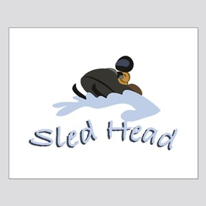 Sled Head Posters