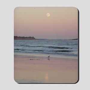 Seagull at Sunset Mousepad
