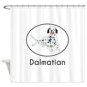 Dalmatians Shower Curtains
