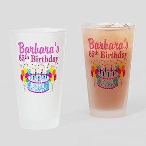 CELEBRATE 65 Drinking Glass