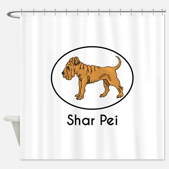 Shar Pei Shower Curtain