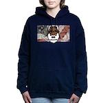 Women's Hooded Sweatshirt (dark) 2