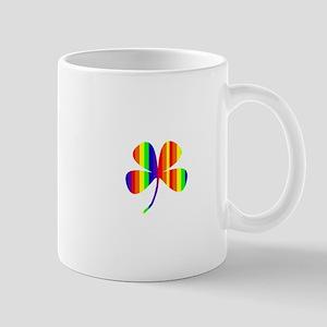 4 Leaf Clover Rainbow Pot O Gold for Ryan Mugs