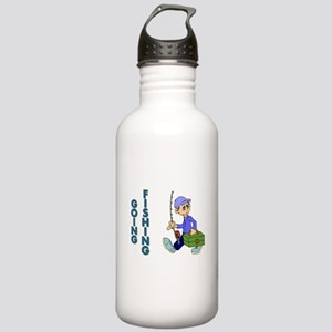 GOING FISHING Stainless Water Bottle 1.0L