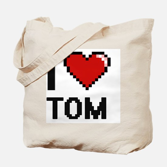 Cute Tom rocks Tote Bag
