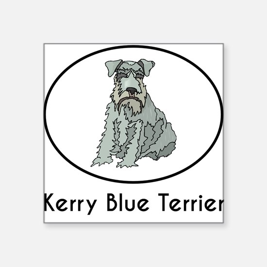 Kerry Blue Terrier Sticker