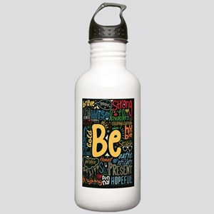 Be Positive, Nice, Bra Stainless Water Bottle 1.0L