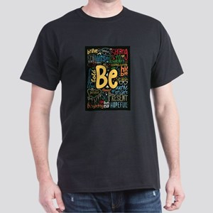 Be Positive, Nice, Brav Women's Cap Sleeve T-Shirt