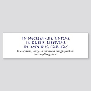 In Everything, Love Bumper Sticker