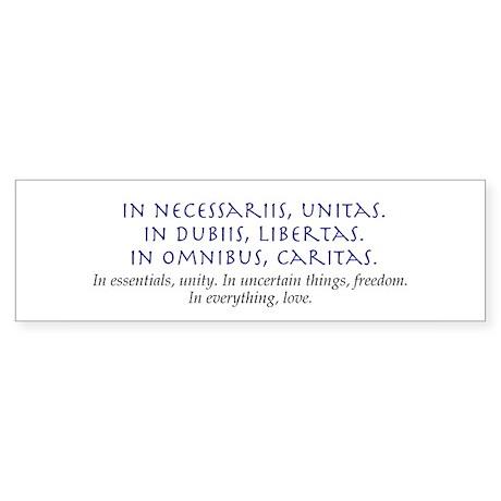 In Everything, Love Bumper Sticker