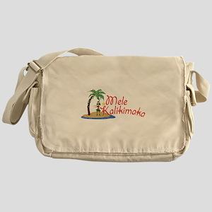 Mele Kalikimaka Messenger Bag