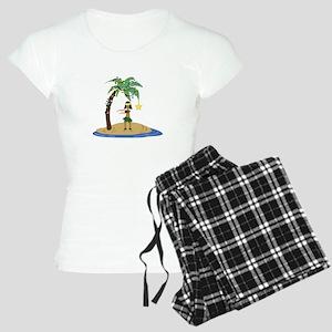 Christmas in Hawaii Pajamas