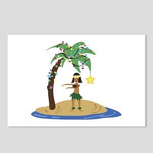 Christmas in Hawaii Postcards (Package of 8)