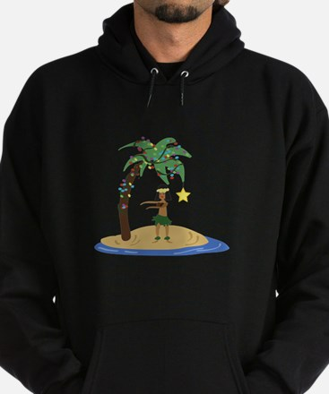 Christmas in Hawaii Hoodie