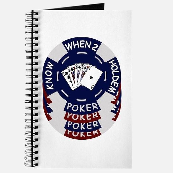 Holdem Poker Chips Journal