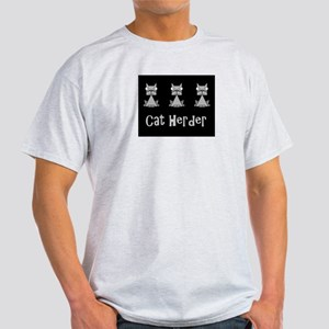 Cat Herder - job humor with cats T-Shirt