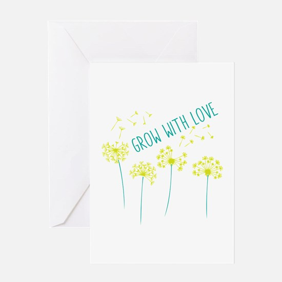 Grow With Love Greeting Cards