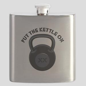 Put Kettle On Flask