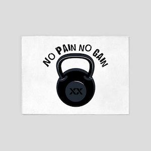 No Pain 5'x7'Area Rug