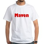 Maven White T-Shirt
