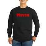 Maven Long Sleeve Dark T-Shirt