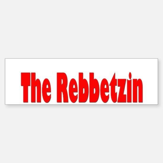 The Rebbetzin Bumper Bumper Bumper Sticker